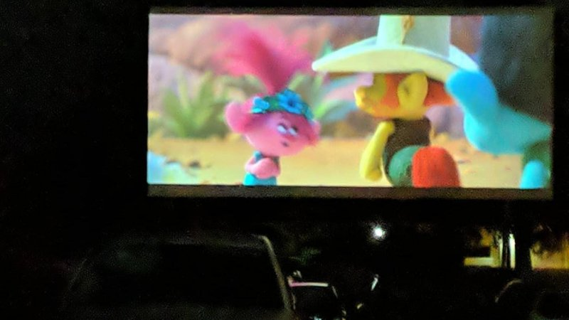 Drive In + Trolls World Tour + Friends = Awesome